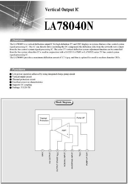 Blok Diagram TV   Training Center