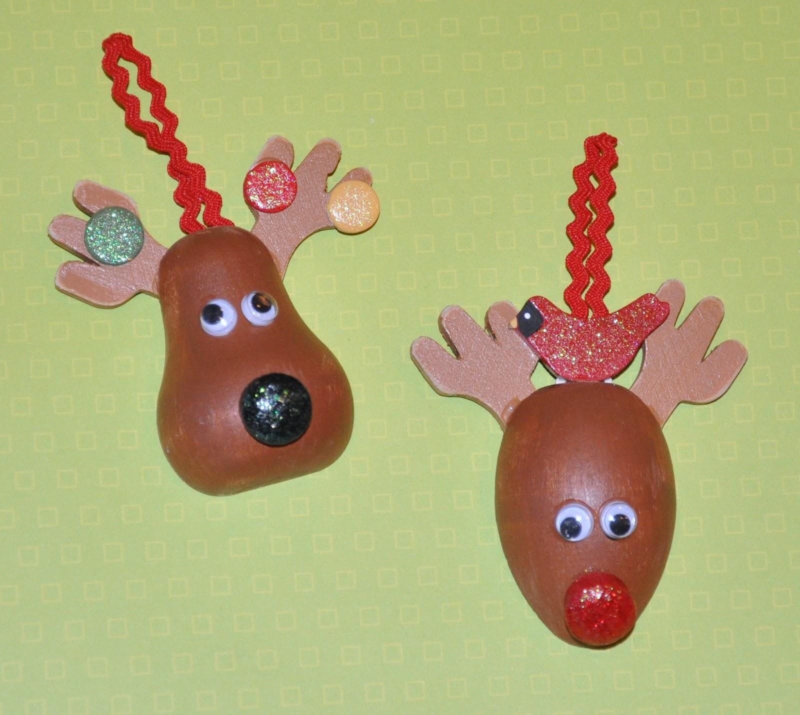 Megpie Designs: Christmas Reindeer Ornaments