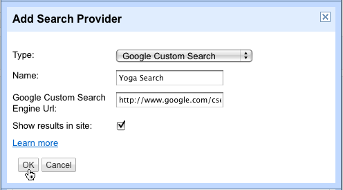 Add Search Provider - Google Custom Search Engine - Ali Khan Blogs (AKBlogs.com)
