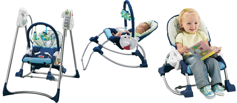 Juaimurah Fisher Price Smart Stages 3 In 1 Rocker Cum Swing