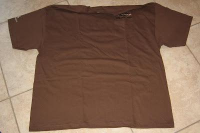 tshirt laying on floor