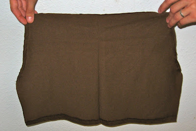 cut out shorts fabric