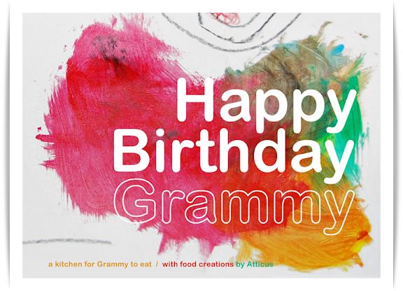 Happy Birthday Grammy Norococo