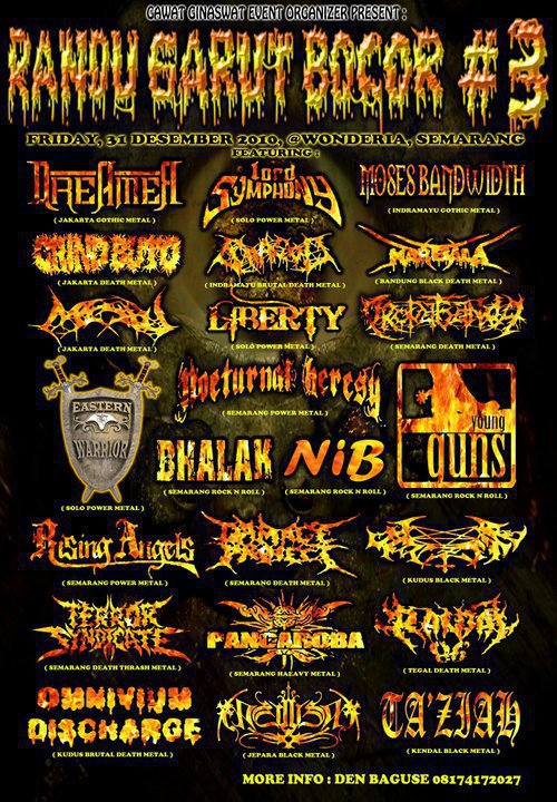 famlet event black metal indonesia