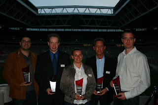 NCE Scoop Best Storage Virtualisation Reseller in Northern Europe at DataCore Customer Conference