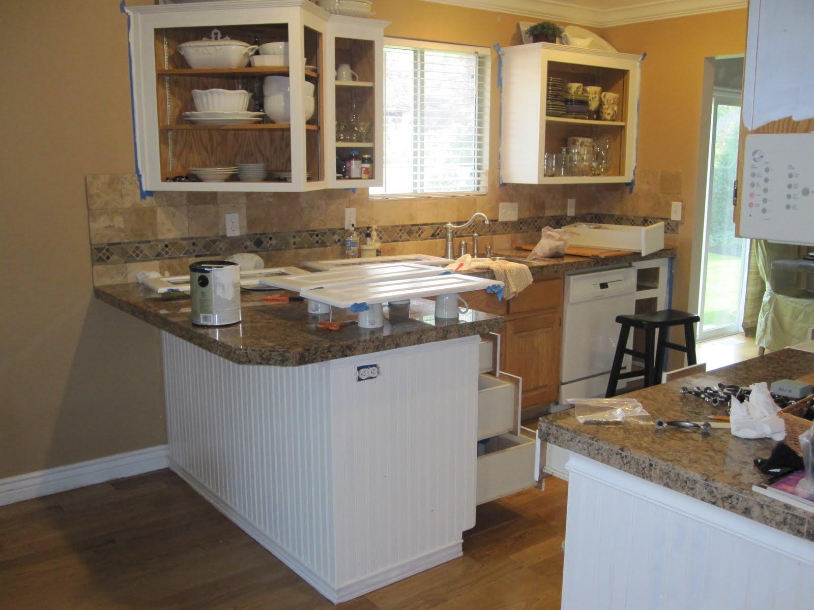Big Time House Lover Ugly Oak Kitchen Cabinet