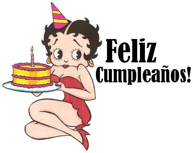 Imagenes De Betty Boop De Cumpleaños