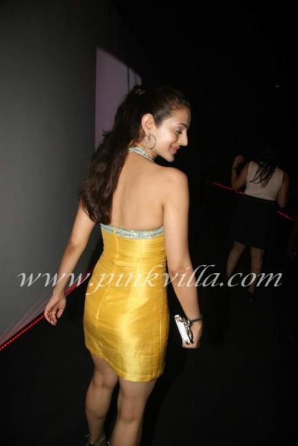 Cute actress Amisha Patel at Vero Moda fashion show