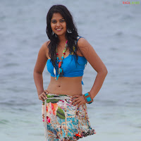 Telugu Actress BINDU MADHAVI beach photos