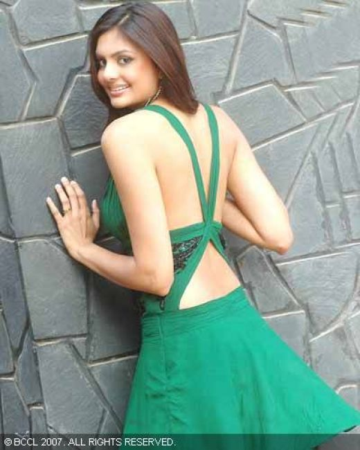 Femina Miss India Earth Pooja Chitgopekar Hot Pictures