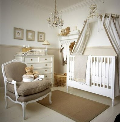 A Calm Gray Beige With White Is Perfect Palette For Soothing Nursery