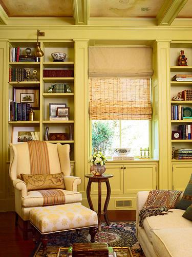 Golden Delicious Benjamin Moore Living Room