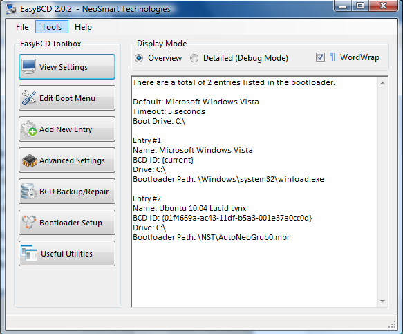 Use the Windows Bootloader to dual-boot Windows Vista and