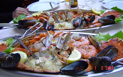 Que que se come por aqui parrillada de marisco - Casa soto baiona ...
