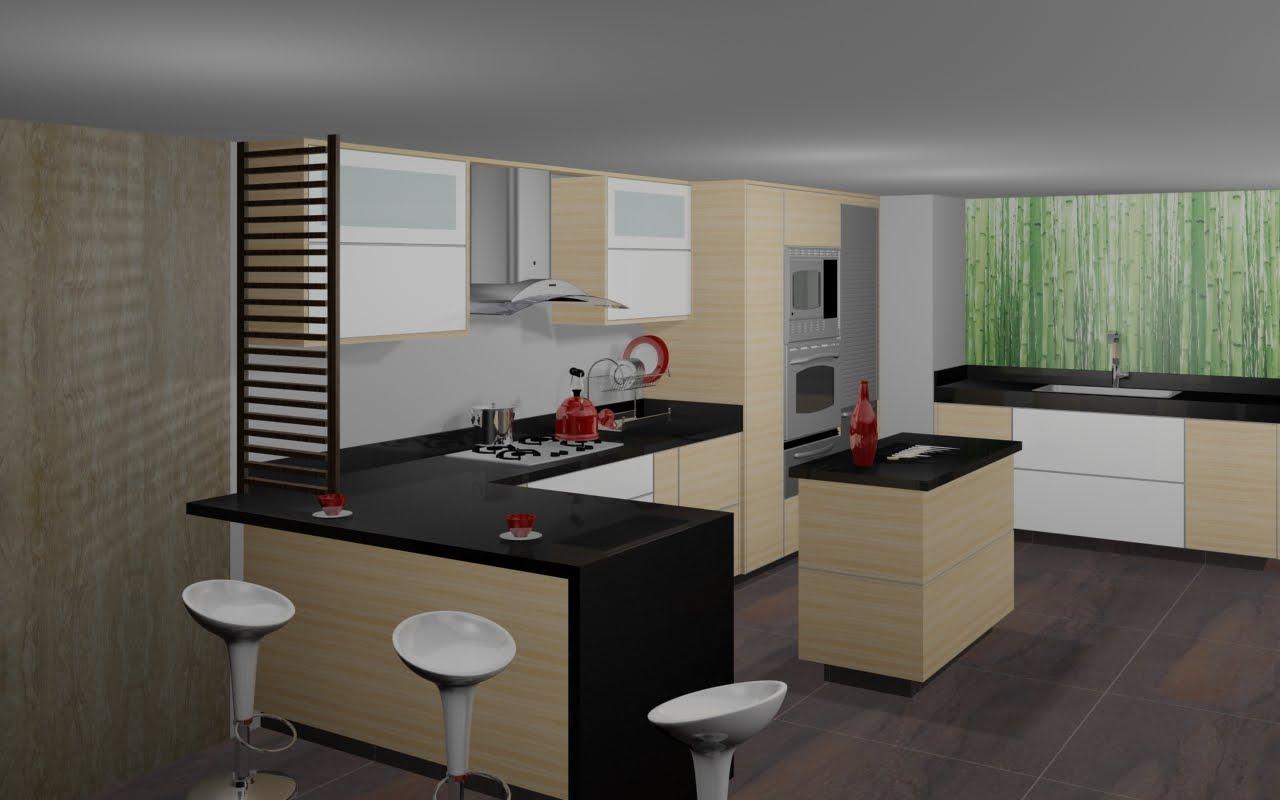 cocinas modernas induccion