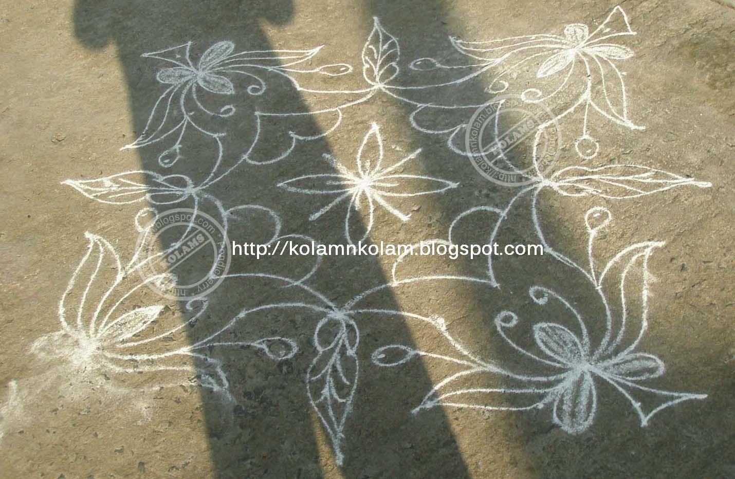 Part 01 New Year 2011 Kolam