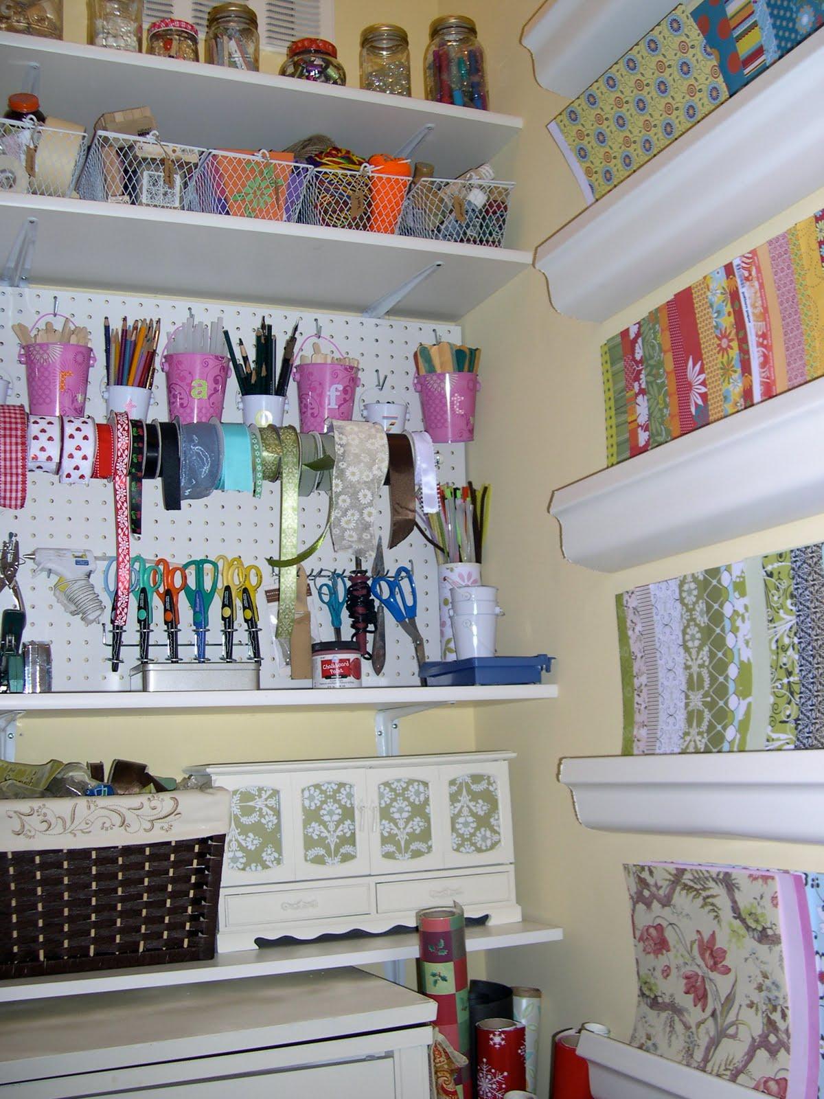 Reorganizing My Craft Closet
