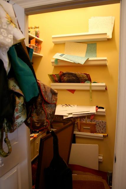 Reorganizing Room: Reorganizing My Craft Closet