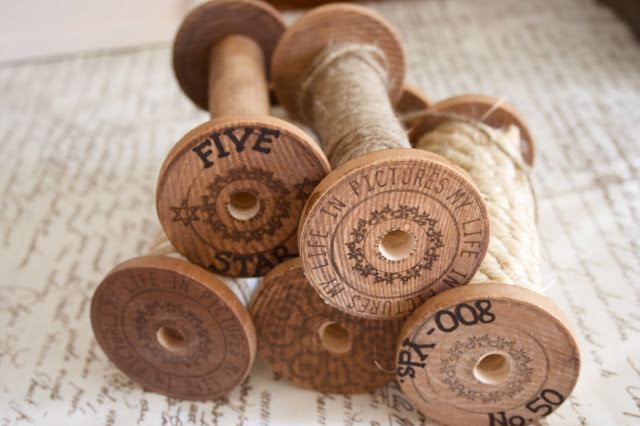 "How to Make DIY ""Vintage"" Wooden Spools"