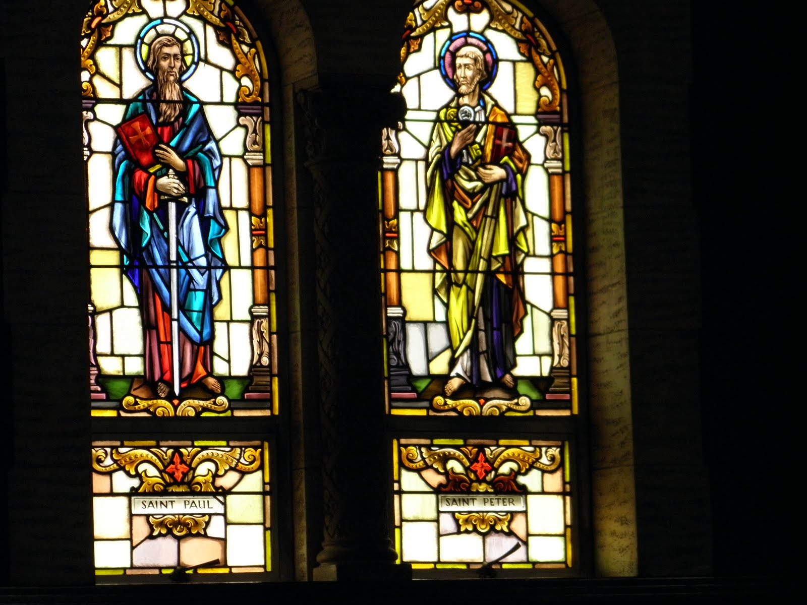 St. Cecilia Church Stained Glass