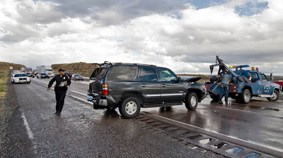 Out of My Cell: Triple Trouble - three separate accidents in three miles