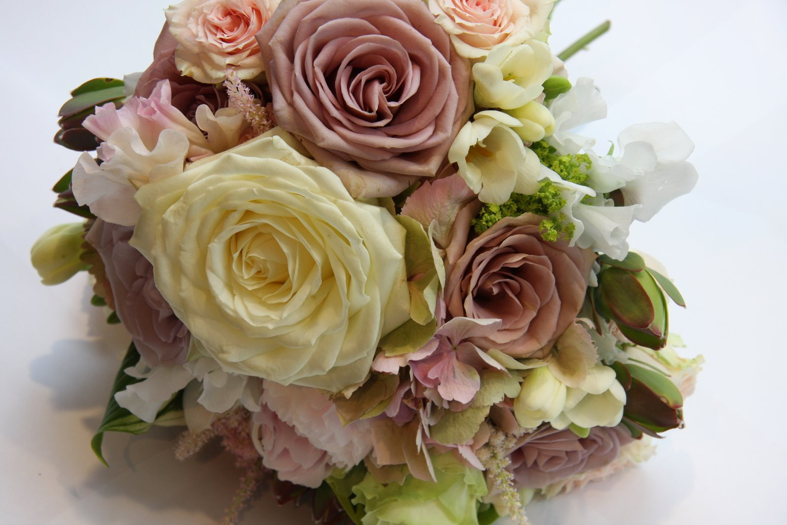 The Flower Magician: Vintage Hand Tied Wedding Bouquet