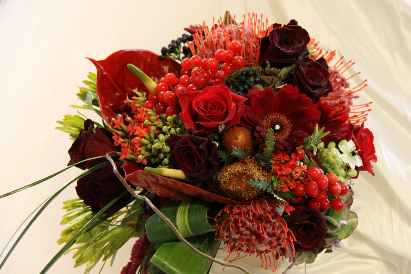 The Flower Magician: The Jewels of Autumn Wedding Bouquet