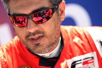 Ajith Kumar at Monza, Italy