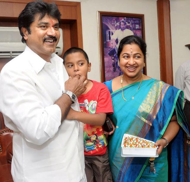 Sarathkumar turns 56 birthday stills 2