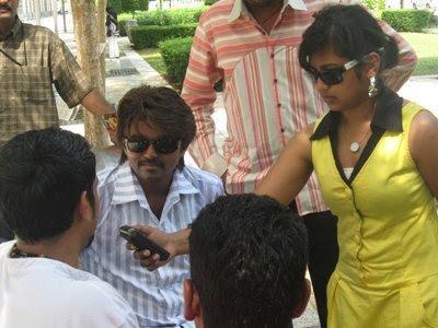 Vijay at Kaaval Kaadhal Sets Malaysia Still 3