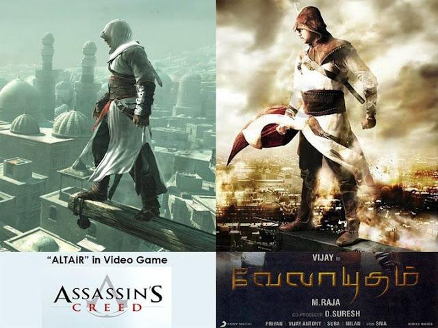 Velayudham Vs Assassin's Creed