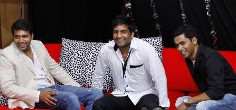 Santhanam -Jeyam Ravi at Endhiran Audio Launch