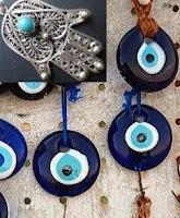 أشكال أخرى للخرزة الزرقاء