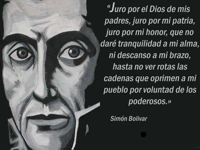 Sandra Rossi Simón Bolivar Y Sus Célebres Frases