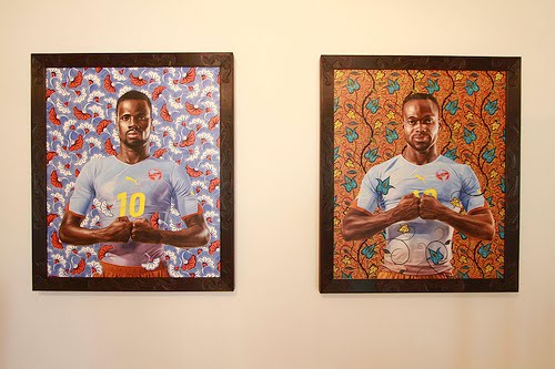 40c281bf0f69b5 The artwork is a marriage of portraits, art, and fashion with an African  touch. www.kehindewiley.com