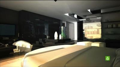 la belle maison de cristiano ronaldo madrid en images. Black Bedroom Furniture Sets. Home Design Ideas