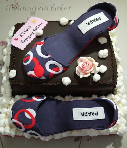 Shoes Shoe Box Birthday Cake