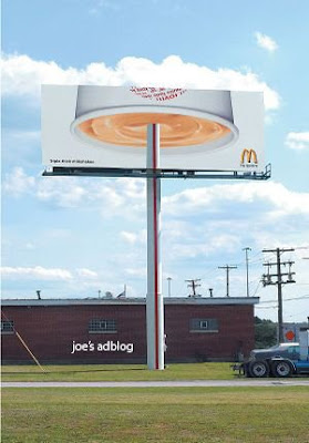 mcdonalds+drink - View funny advertising photos