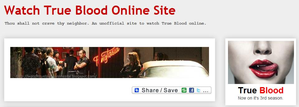 Watch True Blood Online