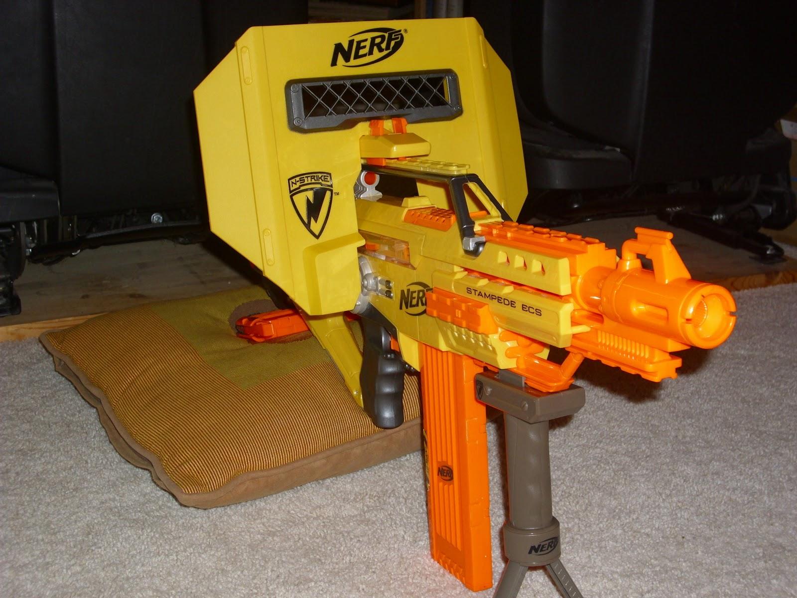 Nerf Gun Reviews Nerf Stampede Ecs