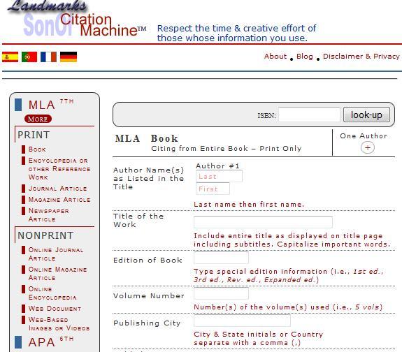 APA Citation Generator