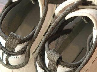 Terrem(テレム)PUBLIC MID GREY/SUEDE スニーカー 履き口アップ写真