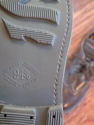 8 by Terrem(エイト・バイ・テレム)TL-2 BROWN/SMOOTH ブーツ ソールアップ写真