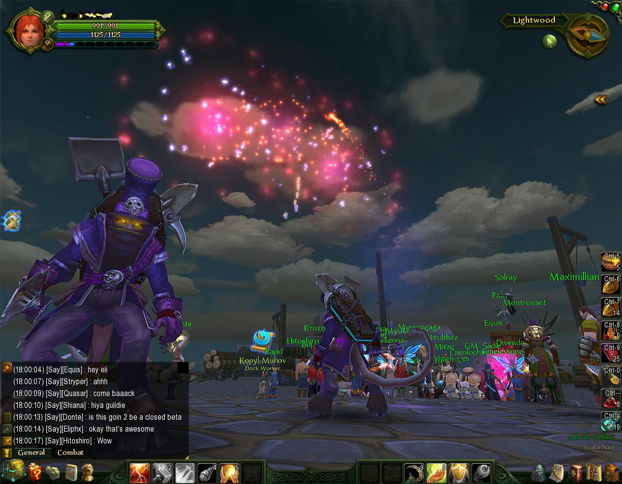 Tchos' Gaming and Modding: Allods Online