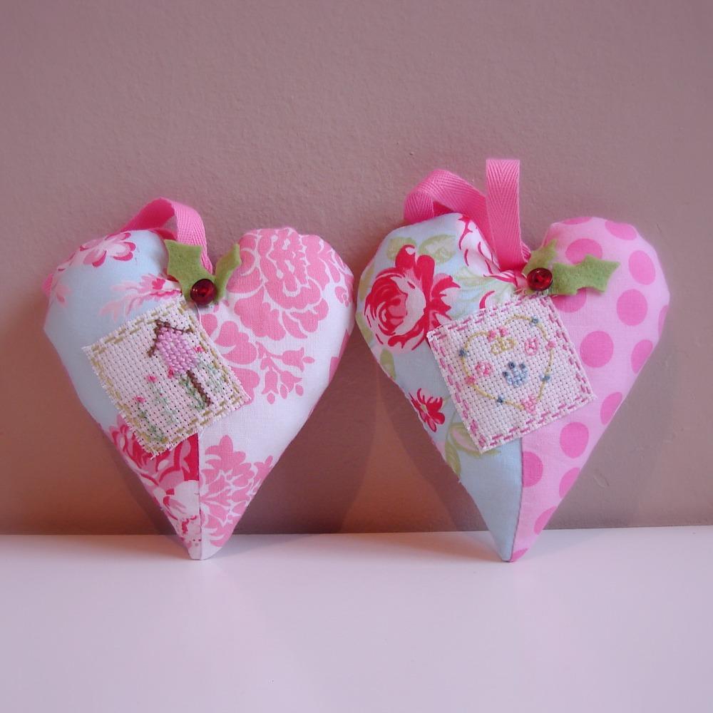Roxy Creations: Christmas Decorations Hearts