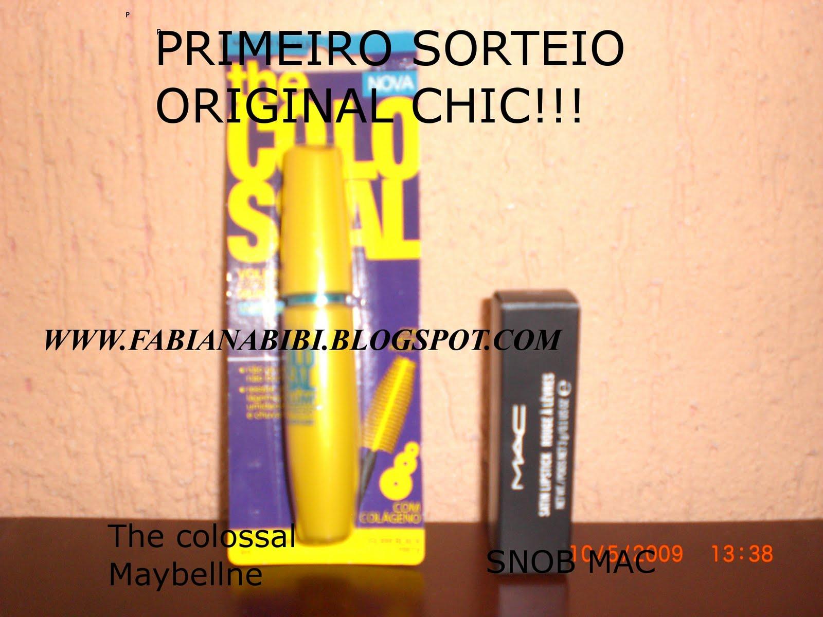 Sorteio Original Chic