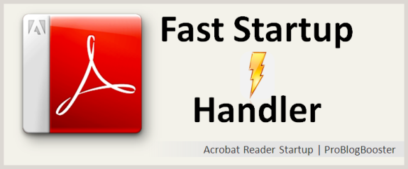 How to Speed up PDF File Opening Loading Search in Adobe Acrobat Reader