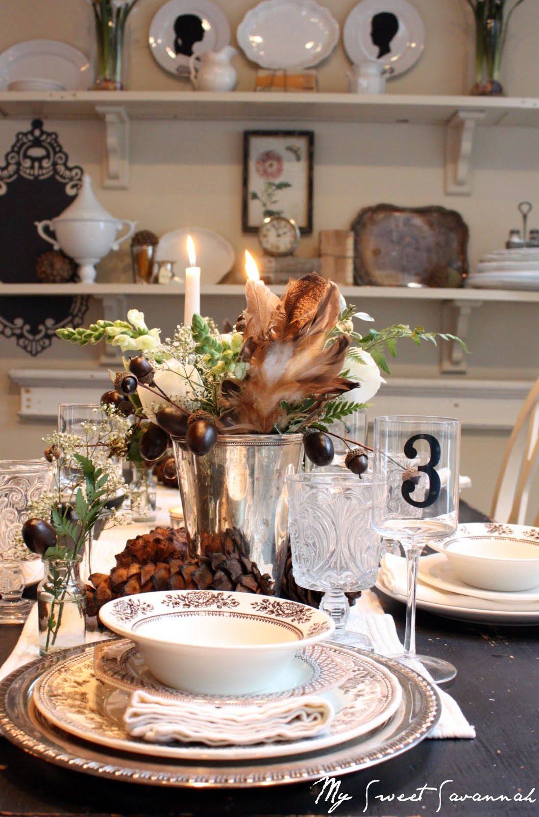 My Sweet Savannah Our 20 Thanksgiving Table