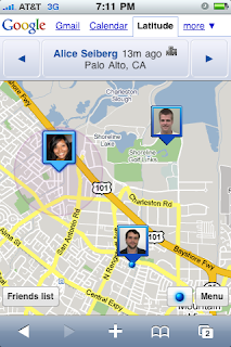 Google Latitude For iPhone- Gimme More
