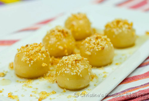 糖不甩 Glutinous Rice Balls with Peanuts & Sesame Seeds01